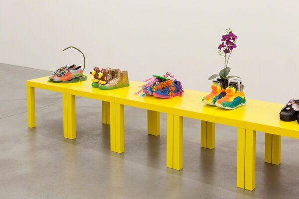 Michael Pybus / Crumple Zone, installation view