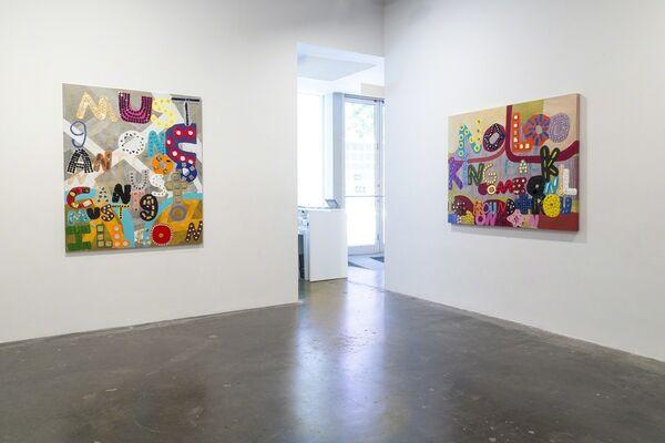 Samuel Jablon: Word:Play, installation view