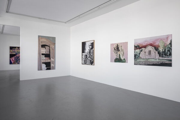 Tal R & Mamma Andersson - Svanesang, installation view