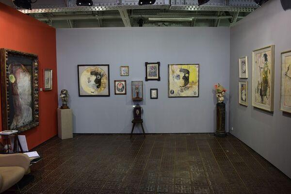 Sardac at Positions Berlin 2016, installation view