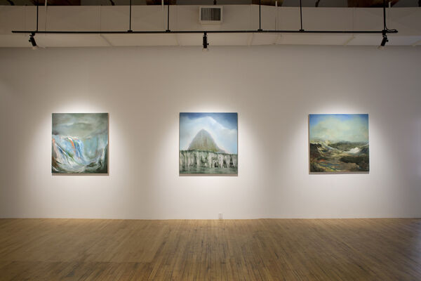 Andrew Rucklidge - the fine art of surfacing & Martin C. Herbst - Revisited, installation view