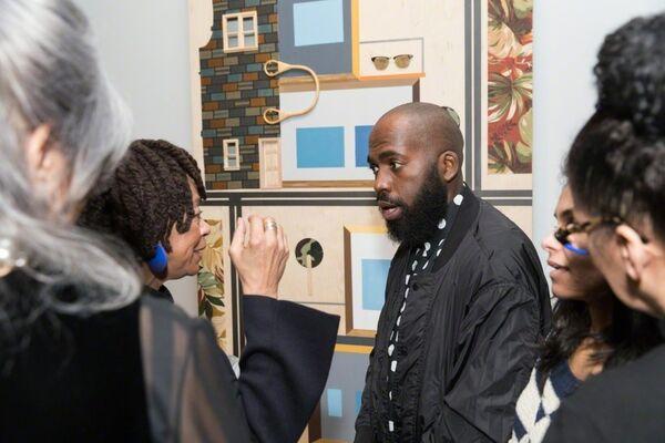 Derrick Adams: Sanctuary, installation view