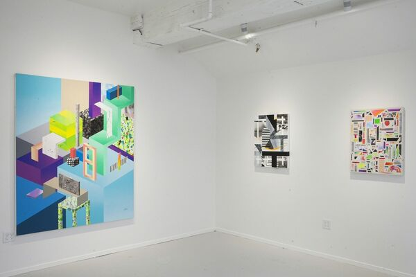 Clark Goolsby: Simpler Times, installation view