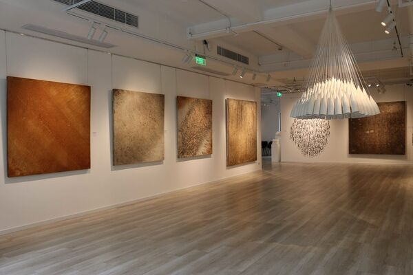 What if there was a way to see with our eyes shut... - Clément Borderie & Cat Loray, installation view