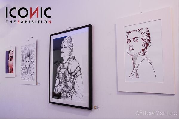 ICONIC: The Summer Exhibition Edition, installation view