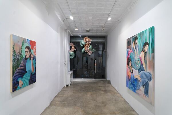 Martine Johanna: Life is but a dream, installation view