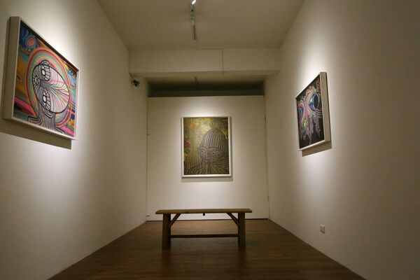 Lines in between Void- Wu Hsichi Solo Exhibition, installation view