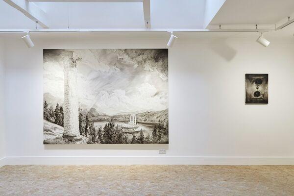 Lu Chao - Black Dots, installation view