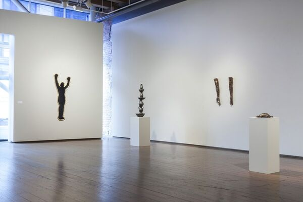Mark Calderon - Show of Hands, installation view