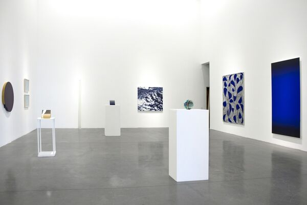 WATER AND LIGHT, installation view