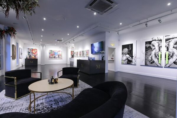 Winter Contemporary, installation view