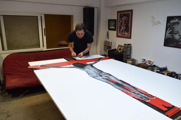 Ernesto Rancaño, installation view