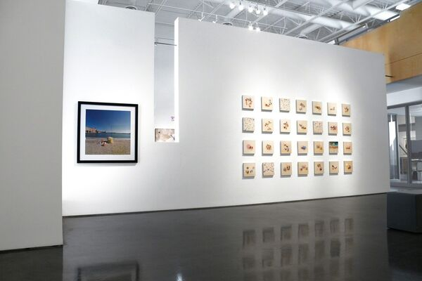"""Sunscreen"" - Group Show, installation view"