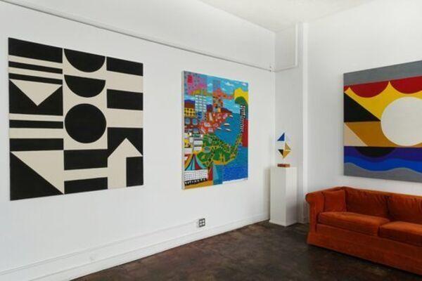 Eric Ernest Johnson: Running Water, installation view