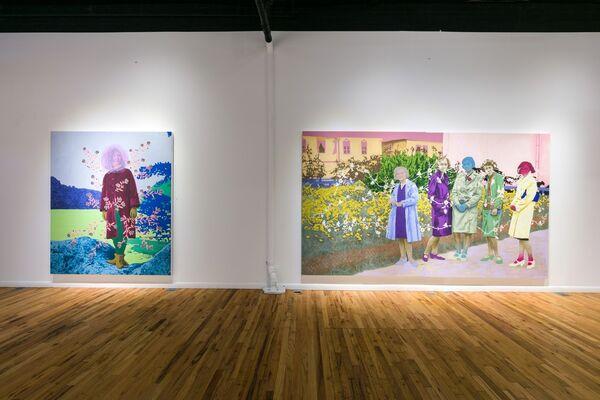 Daisy Patton - A Rewilded Arcadia, installation view