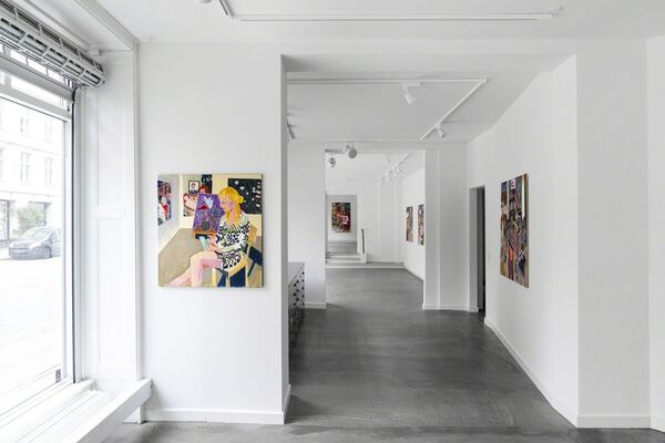North, installation view