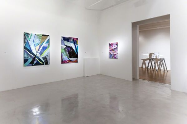 "Ian Hagarty and Dmitri Obergfell ""You Are What I Was, You Will Be What I Am"", installation view"