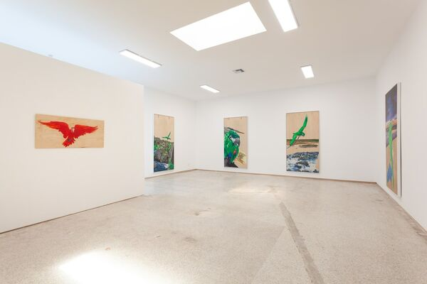 ADIOS MELANCHOLY - THE PARROTY OF LIFE, installation view