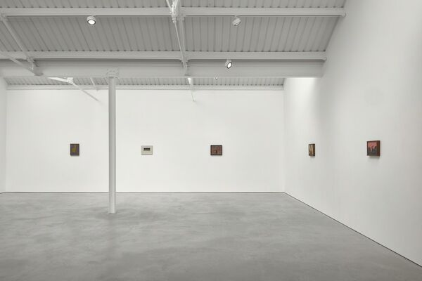 Forrest Bess, installation view