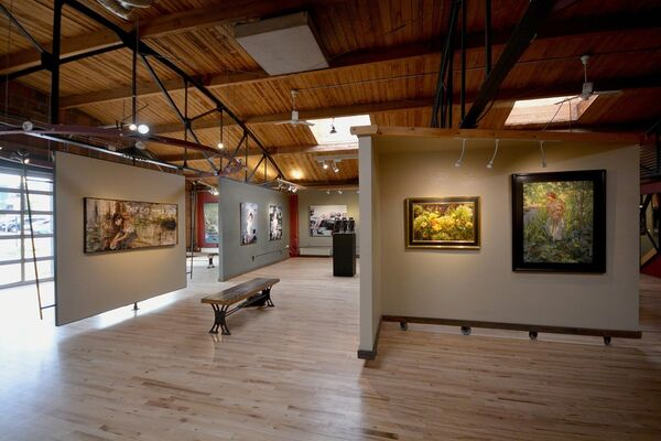 Large Works, installation view