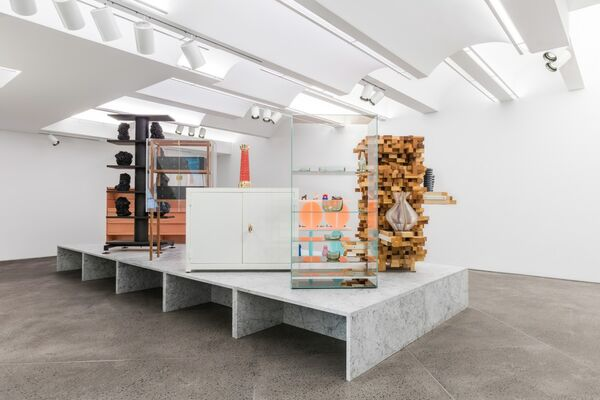 Of Cabinets and Curiosities, installation view