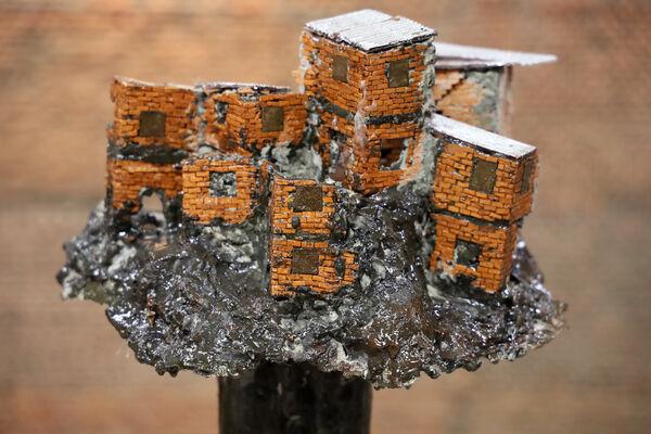 Ed Cross Fine Art at London Art Fair 2020, installation view