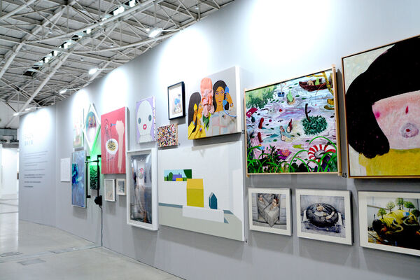 Over the Influence at Taipei Dangdai 2020, installation view