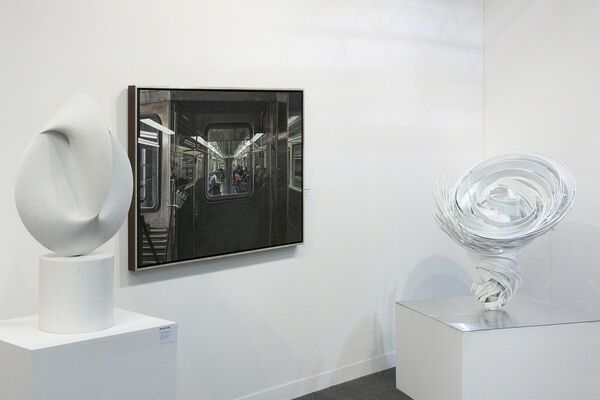 Marlborough Gallery at The Armory Show 2016, installation view
