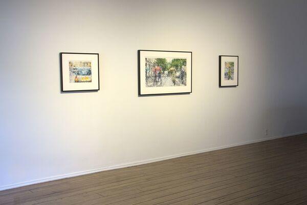 Elizabeth Patterson - Paris and Other Places, installation view