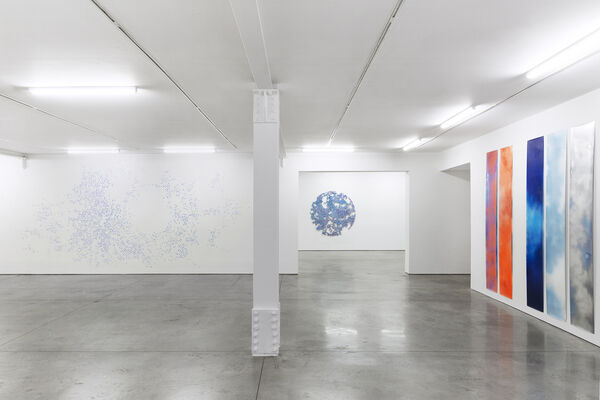 Katy Stone: Light Currents, installation view