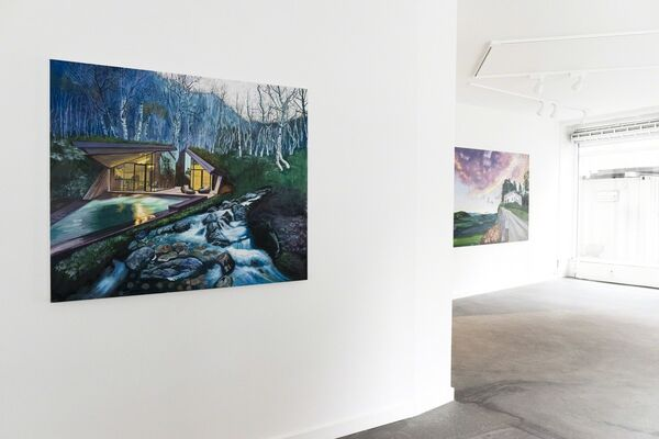 Then Dawns the Invisible, installation view