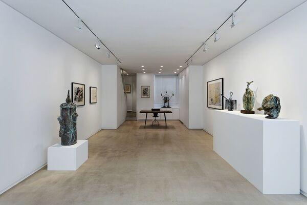 Miró, installation view