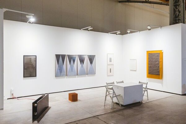Galerie Hubert Winter at viennacontemporary 2016, installation view
