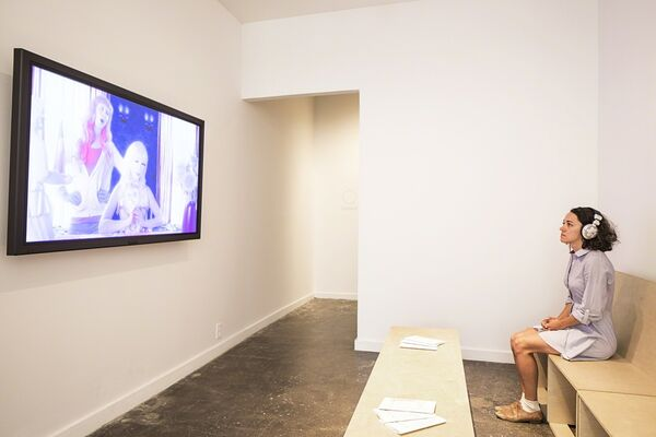 This is Presence - Artist Film International 2016: The Institute for New Feeling with Arturo Bandini, installation view