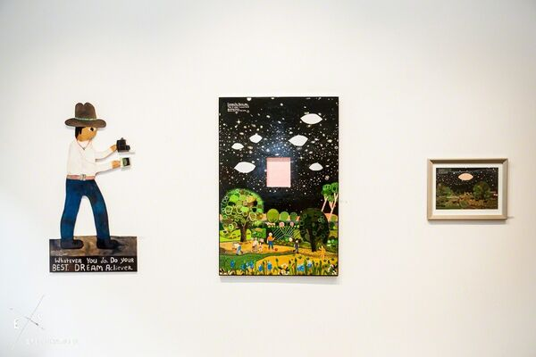 Esther Pearl Watson | GALACTIC PLAINS, installation view