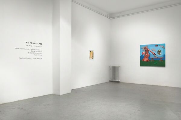 Be yourselfie, installation view