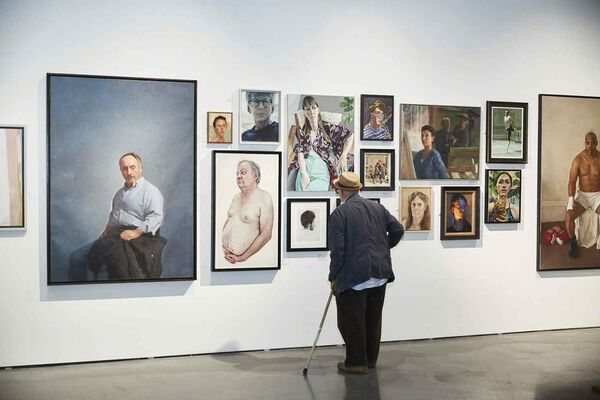 The Royal Society of Portrait Painters Annual Exhibition 2018, installation view