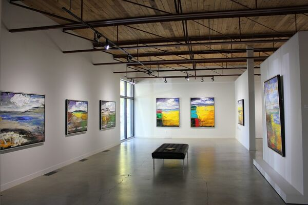 Matt Petley Jones, installation view