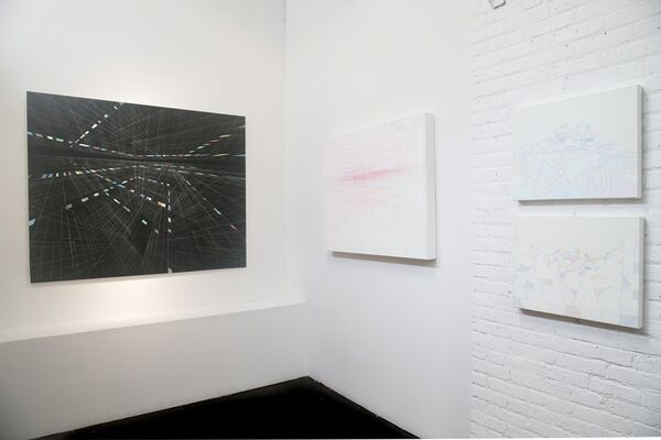 Steven MacIver: Linear Landscapes, installation view