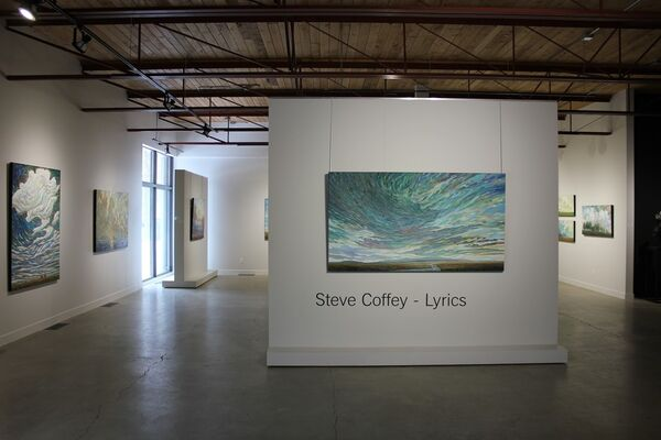 Steve Coffey- Lyrics, installation view