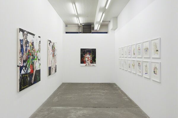 Wolves Wait At Your Door, installation view