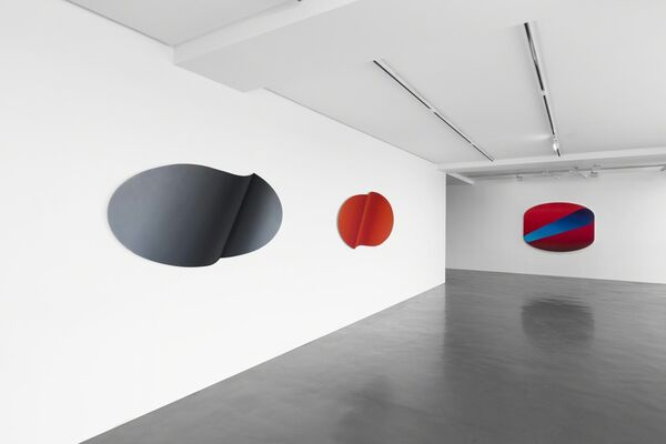Because of / - 2016 Chen Wenji New Works, installation view