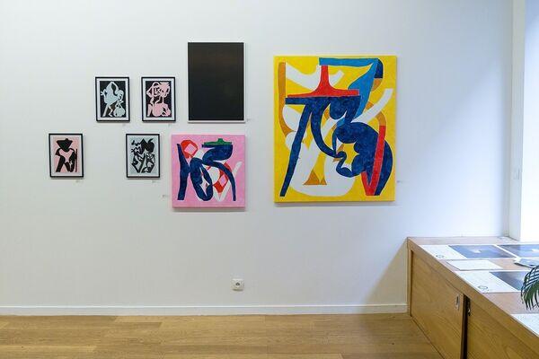 Toujours Béton - 108 NERO, ALBERONERO, CT, Mattia LULLINI, Marco SCHIAVONE, installation view