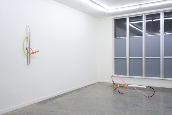 Kirk Stoller: the Color ran from his face, installation view