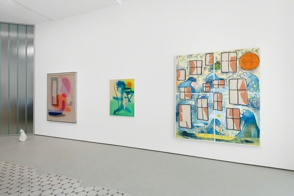 Florian Meisenberg and David Renggli, installation view