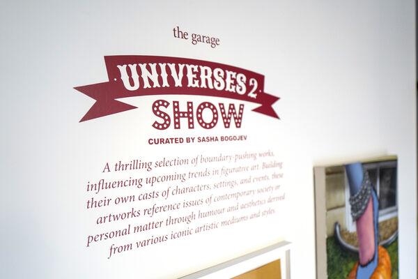 Universes 2, installation view