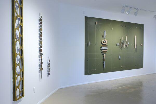 Carolina Sardi: elements, matter & space, installation view