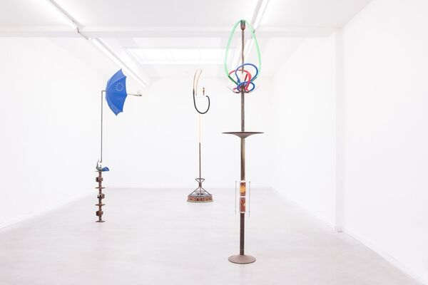 The Dance For Mobile Reception - Kasper De Vos, installation view