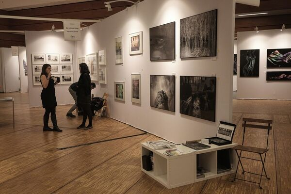 Projekteria [Art Gallery] at fotofever Paris 2016, installation view