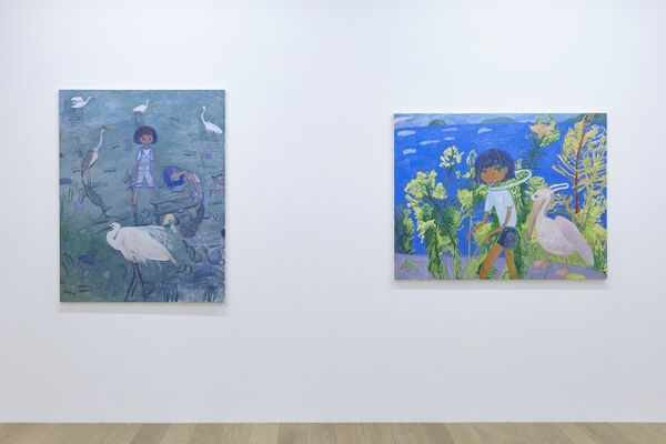 Makiko Kudo, installation view